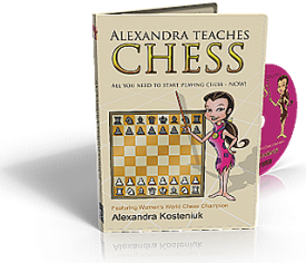 "Chess Software for Kids ""Alexandra Teaches Chess"" (PC & Mac versions) DVD"