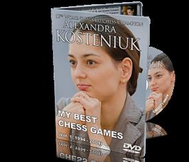 Alexandra Kosteniuk Best Games DVD