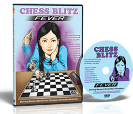 CHESS BLITZ FEVER by Alexandra Kosteniuk DVD