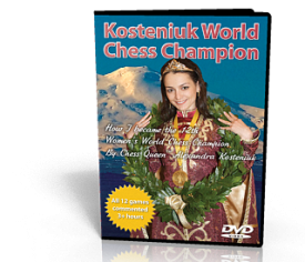 KOSTENIUK WOMEN'S WORLD CHESS CHAMPION DVD