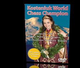 KOSTENIUK WOMEN'S WORLD CHESS CHAMPION DVD