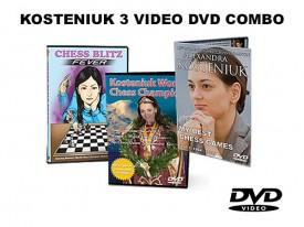 Kosteniuk 3 DVD COMBO
