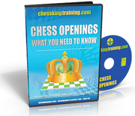Chess King Training Openings Training Software DVD