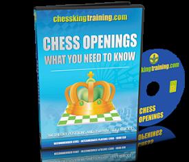 Chess King Training Openings Training Software DVD