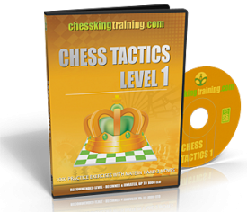 Chess King Training Tactics 1 DVD