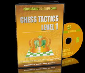 Chess King Training Tactics 1 DVD