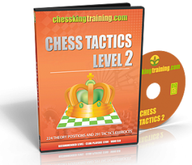 Chess King Training Tactics 2 DVD
