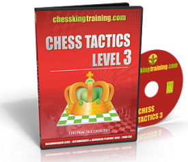 Chess King Training Tactics 3 DVD