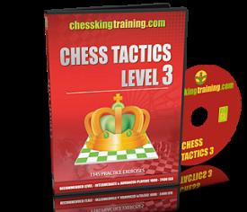 Chess King Training Tactics 3 DVD