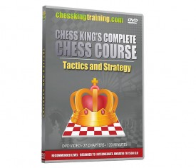 Complete Chess Course Disk 2 Tactics and Strategy DVD