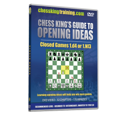 Chess King's Guide to Opening Ideas Disk 3 Closed Games 1.d4 and others DVD