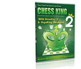Chess King 2 with Houdini 2 (current 2013 version) DVD