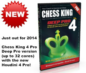 Chess King 4 Deep Pro (new for 2014) – Ultimate DVD
