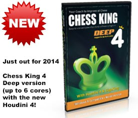 Chess King 4 Deep (new for 2014) DVD