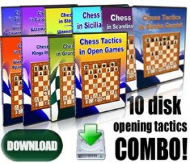 ALL 10 CHESS TACTICS IN THE OPENING COMBO (Download)