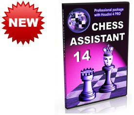 Chess Assistant 14, Professional package with Houdini 4 PRO