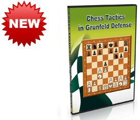 Chess Tactics in Grunfeld Defense (DVD)