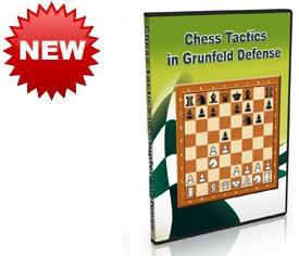 Chess Tactics in Grunfeld Defense (DVD)