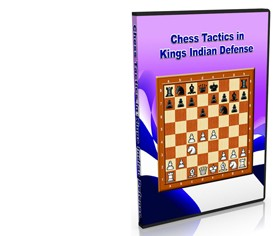 Chess Tactics in Kings Indian Defense (DVD)