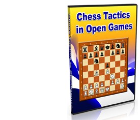 Chess Tactics in Open Games (DVD)