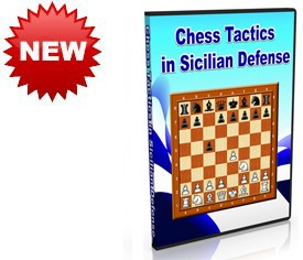 Chess Tactics in Sicilian Defense (DVD)