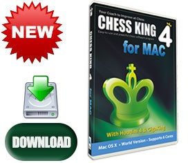 Chess King 4 with Houdini 4 for Mac