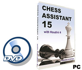 Chess Assistant 15 Software (for PC, DVD)