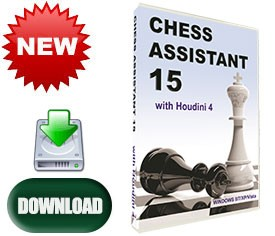 Chess Assistant 15 Software (for PC, download)
