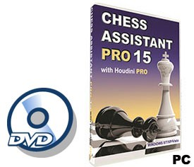 Chess Assistant 15 Pro Software (for PC, DVD)