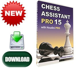 Chess Assistant 15 Pro Software (for PC, download)