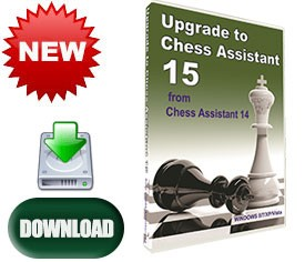 Upgrade to Chess Assistant 15 from Chess Assistant 14 (PC, download)