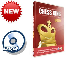 Chess King Gold (new for 2015) DVD