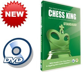 Chess King Standard with Houdini 2 (2015 version) DVD