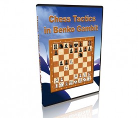 Chess Tactics in Benko (Volga) Gambit DVD