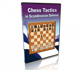 Chess Tactics in Scandinavian Defense DVD