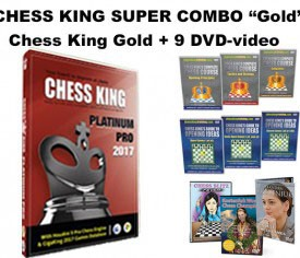 Chess King Super Combo Platinum Pro (Chess King Platinum Pro + 9 DVD-video)