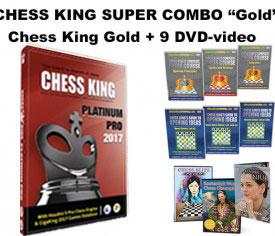 Chess King Super Combo Platinum Pro (Chess King Platinum Pro + 9 DVD-video)