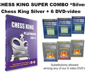 Chess King Super Combo Platinum (Chess King Platinum + 6 DVD-video)