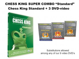 Chess King Super Combo Standard (Chess King Standard + 3 DVD-video)
