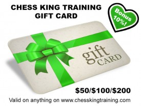 Chess King Training Gift Card for $100