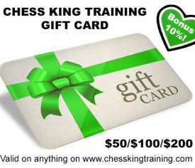 Chess King Training Gift Card for $200