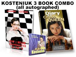 Kosteniuk 3 Book Combo (Autographed)