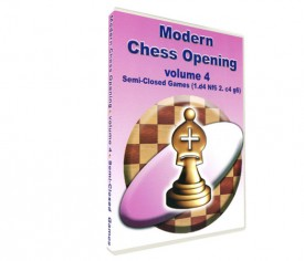 Modern Chess Opening 4: Semi-Closed Games (DVD)