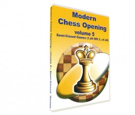 Modern Chess Opening 5: Semi-Closed Games (DVD)