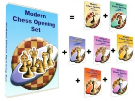 Modern Chess Opening Set (vol.1-7) (DVD)