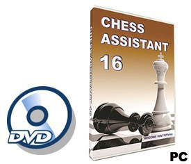 Chess Assistant 16 (for PC, DVD)