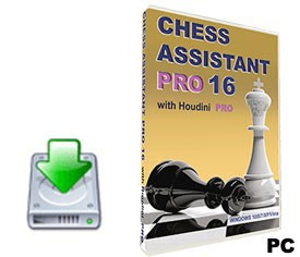 Chess Assistant 16 PRO with Houdini 4 PRO (for PC, download)