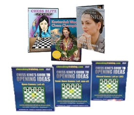 Chess King Guide to Opening Ideas + Kosteniuk Combo (6 DVD)