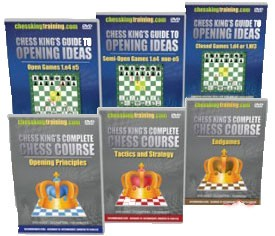 Complete Chess Course + Chess King Guide to Opening Ideas (6 DVD)