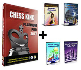 Chess King Platinum Pro + 4 Peshka Courses Level 1 (Download)